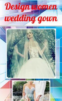 Design women wedding gown apk screenshot