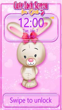 Cute Lock Screen for Girls screenshot 5