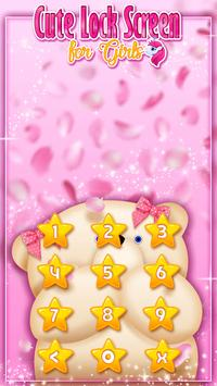 Cute Lock Screen for Girls screenshot 7