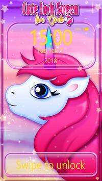 Cute Lock Screen for Girls poster