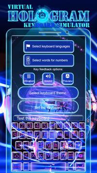 Virtual Hologram Keyboard Simulator screenshot 4