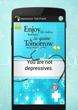 Depression Test Prank screenshot 3