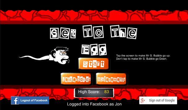 Get To The Egg apk screenshot