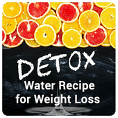 Detox water recipes for weight loss icon
