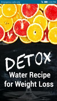 Detox water recipes for weight loss-Body Fitness poster