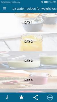 Detox water recipes for weight loss-Body Fitness apk screenshot