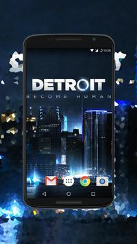 Detroit Become Human Обои скриншот 1