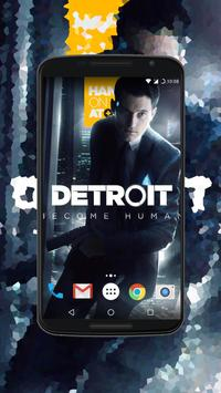 Detroit Become Human Обои скриншот 3