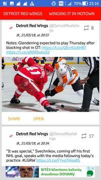 Detroit Red Wings All News screenshot 5