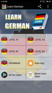 Learn German Grammar Free poster