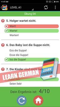 Learn German Grammar Free screenshot 2