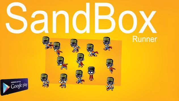Runway Rush SandBOX Runner poster