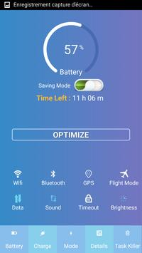 Battery Saver - charge rapide poster