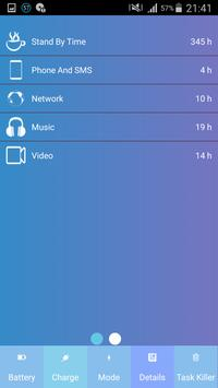 Battery Saver - charge rapide apk screenshot