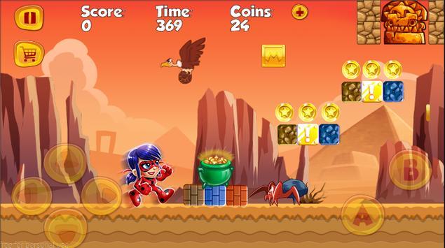 Ladybug Super chibi adventures screenshot 1