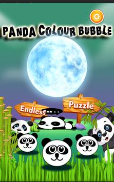 Panda Colour Bubble poster