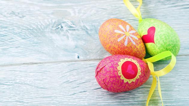 Easter Eggs Wallpaper poster