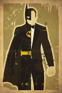 SuperHero Wallpaper poster