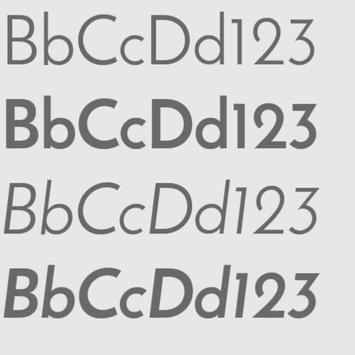 Cm12.x /Cm13 font  jf sans apk screenshot