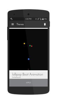 Cm12 boot animation apk screenshot