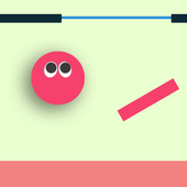 Bounce Ball Flat icon