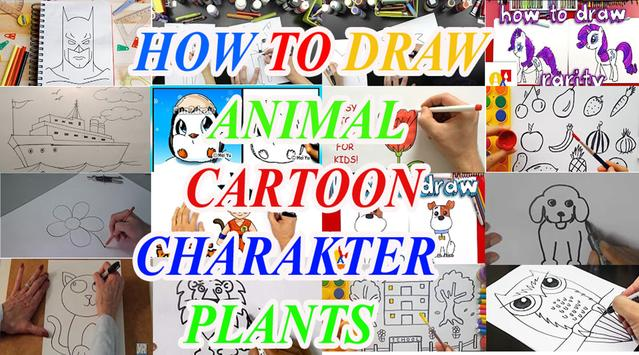 How To Draw For Kids Collections poster
