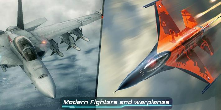 F16 VS F18 Air Attack Fighter poster