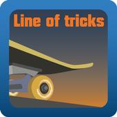 Line of tricks icon