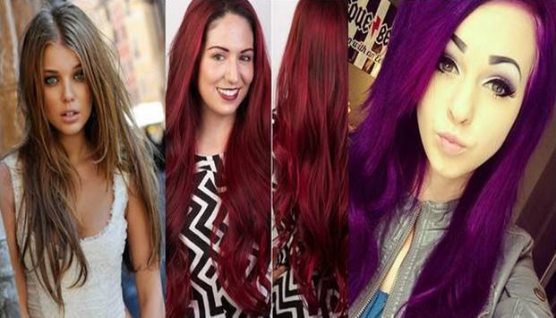 Hair Colors Trend Women 2018 poster