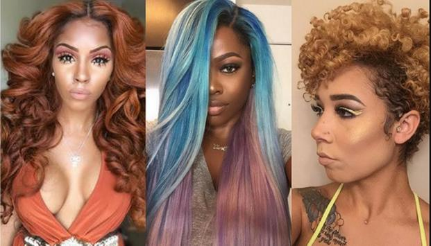 Hair Colors Trend Women 2018 screenshot 1