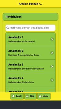 Amalan Sunnah Harian Rasulullah SAW screenshot 5