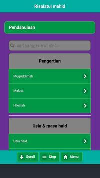 Fiqih Masalah Darah Wanita Haid Nifas Istihadhah screenshot 10