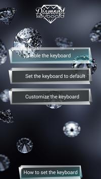 Diamond Keyboard Themes poster
