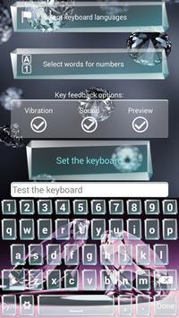 Diamond Keyboard Themes apk screenshot