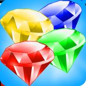 diamonds lines games icon