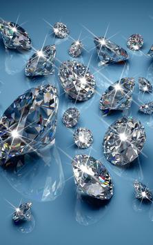 Diamonds Live Wallpaper screenshot 1