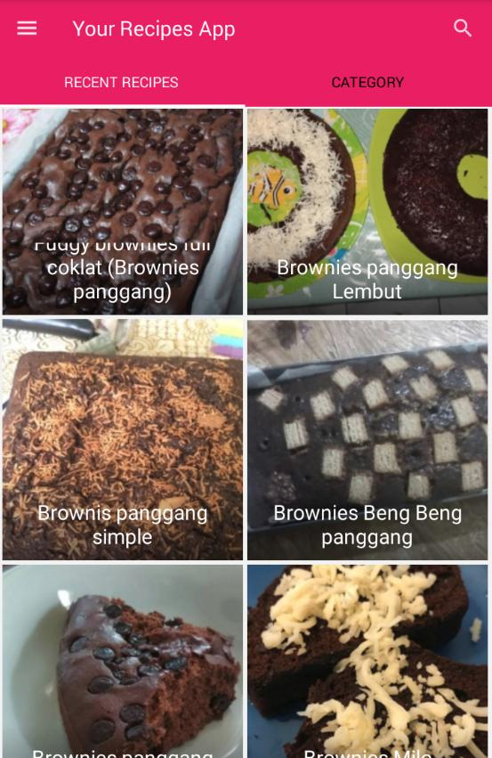 Resep Brownies Panggang For Android Apk Download