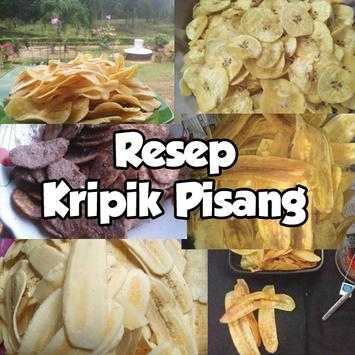 Resep Kripik Pisang poster
