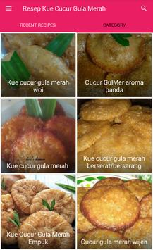Resep Kue Cucur Gula Merah screenshot 1