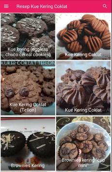Resep Kue Kering Coklat screenshot 1