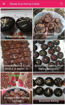 Resep Kue Kering Coklat screenshot 2