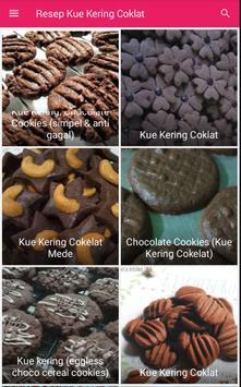 Resep Kue Kering Coklat screenshot 3