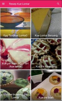 Resep Kue Lontar screenshot 2