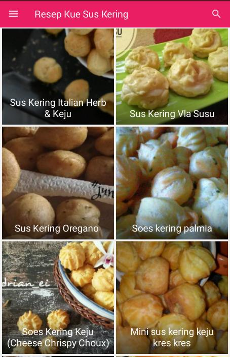 Resep Kue Sus Kering For Android Apk Download