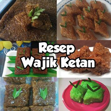 Resep Wajik Ketan poster