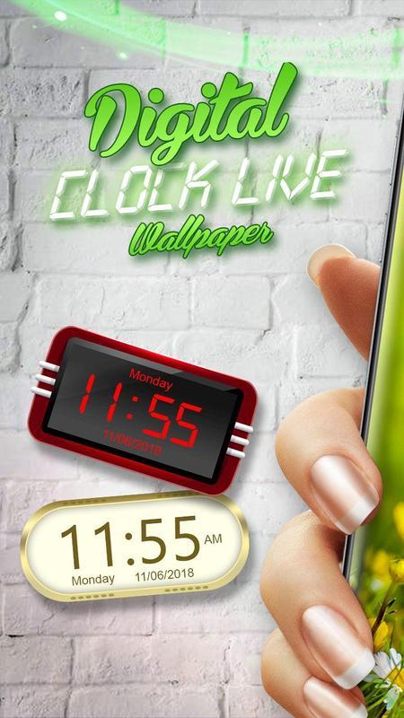 Digital Clock Live Wallpaper Apk ✓ Fitrini's Wallpaper
