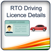 RTO Driving Licence Details icon