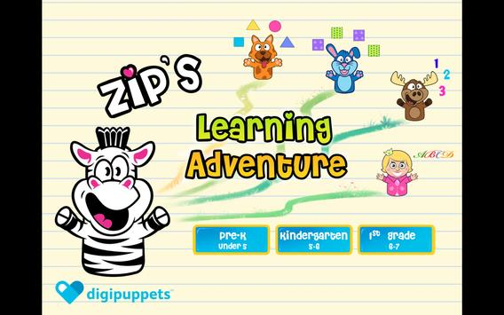 Zip's Learning Adventure poster
