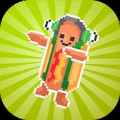 Dancing Hotdog Flip Challenge 2k17 icon