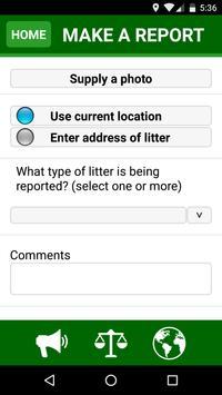Henderson KY Litter Tracker screenshot 1